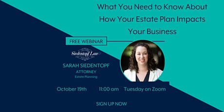 What You Need to Know About How Your Estate Plan Impacts Your Business tickets