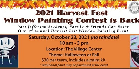 HARVEST FEST WINDOW PAINTING CONTEST tickets