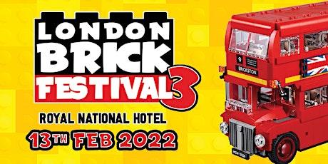 London Brick Festival 3 tickets