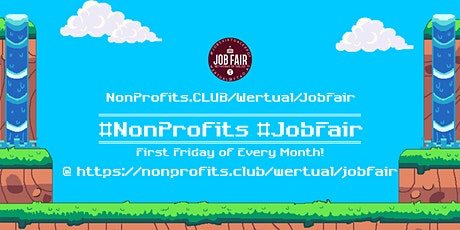 Monthly #NonProfit Virtual JobExpo / Career Fair #Saint Louis tickets