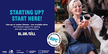 Marketing Masterclass Part 2 - Start-ups in London Libraries (Online) tickets
