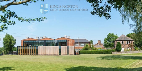 Kings Norton Girls' School Open Evening  (Year 7 Intake for Sept 2022 only) tickets