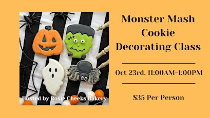 Monster Mash Cookie Decorating Class tickets