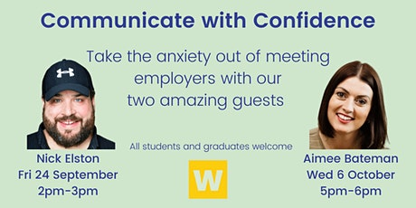 Communicate with Confidence Part 2: with Aimee Bateman tickets