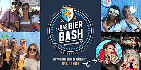 Das Bier Bash 2021 with the Queen of Oktoberfest tickets