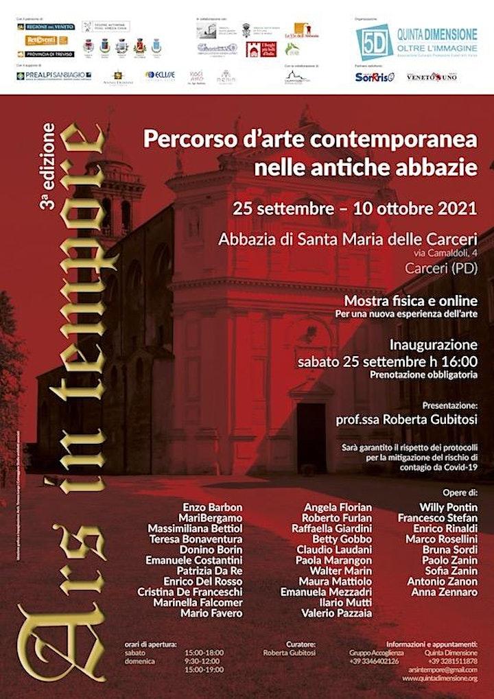 Immagine Ars in tempore a Carceri (PD)