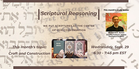 Scriptural Reasoning: Craft and Construction tickets