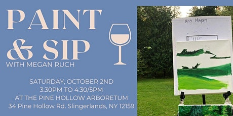 Paint & Sip at the Pine Hollow Arboretum tickets