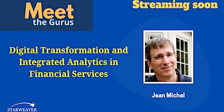 Digital Transformation and Integrated Analytics in Financial Services tickets