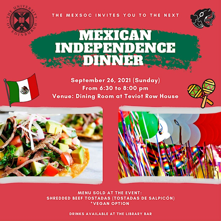 Mexican Independence Dinner image