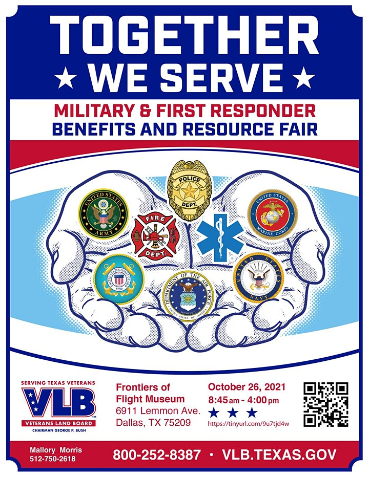 Together We Serve: Veterans and First Responders Benefits and Resource Fair image