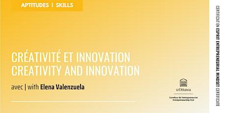 CEE : Créativité et innovation   EMC: Creativity and Innovation billets