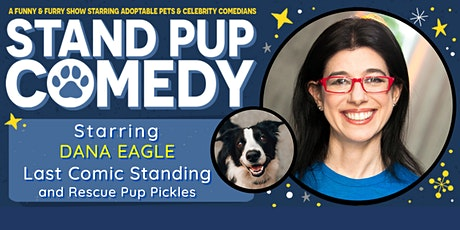 Dana Eagle Starring in Stand Pup Comedy Haddonfield tickets