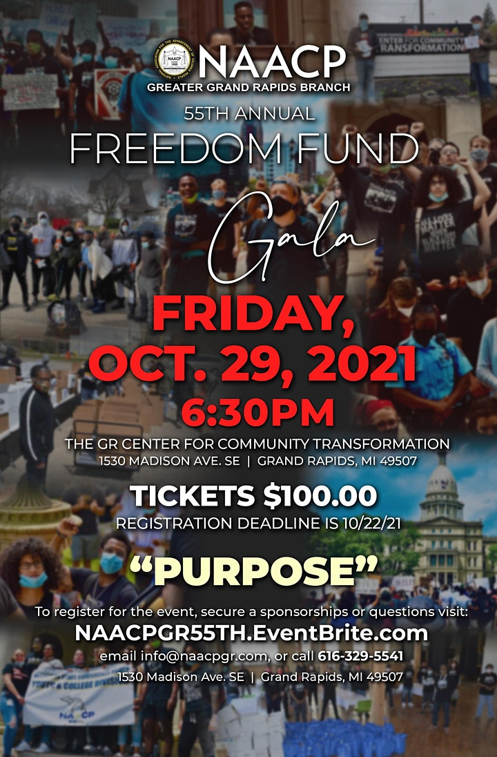 NAACP GR 55th Freedom Fund Gala & Awards - Hybrid Event image