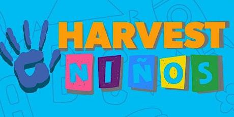 Harvest Niños SAI 12:00 pm boletos