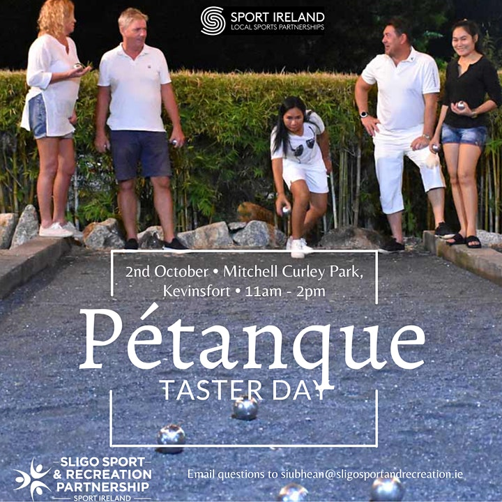 Pétanque (Boules) Taster Day image