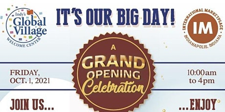 Global Village Welcome Center Ribbon Cutting and Grand Opening tickets