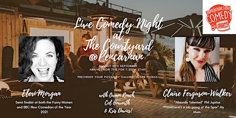 Live Comedy Night at The Courtyard @ Pencarnan tickets