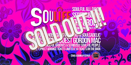 Soulife End of Summer Soulful All-Dayer tickets