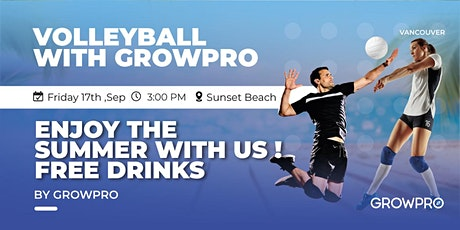 Volleyball with GrowPro! tickets