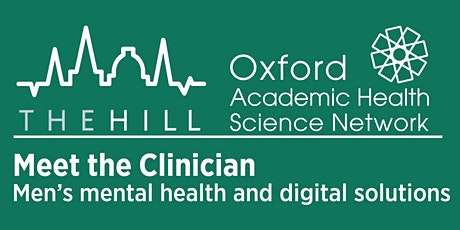 Meet the Clinician - Men's mental health and digital solutions  WS 1 tickets