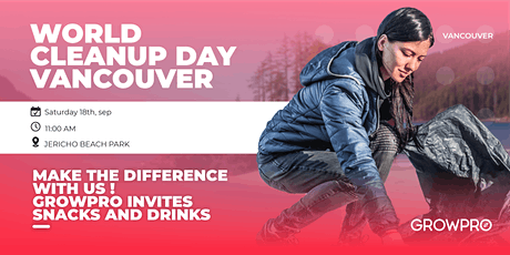 World Cleanup Day Vancouver tickets