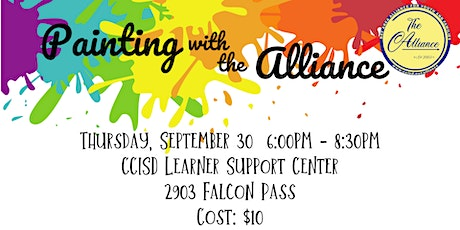 Painting with the Alliance September 30, 2021 tickets