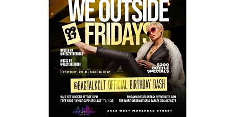 FNV presents We Outside Fridays tickets