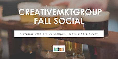 CreativeMktGroup Fall Social tickets