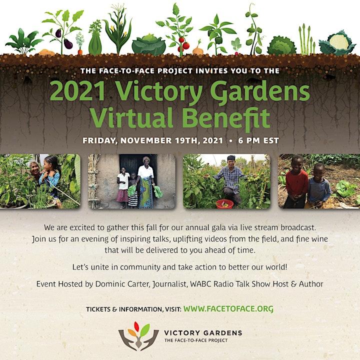 Victory Gardens Virtual Benefit image