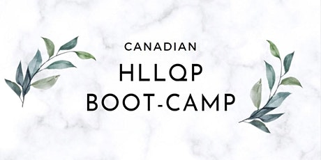 CANADIAN HLLQP CRASH COURSE CLASSES IN PUNJABI  (Sept  17-19, 2021) tickets