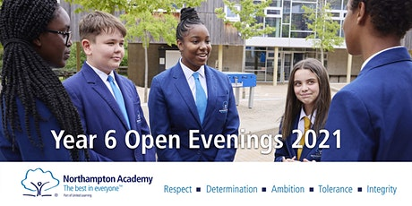 Northampton Academy Year 6 Open Evenings for Year 7 September 2022 Intake tickets