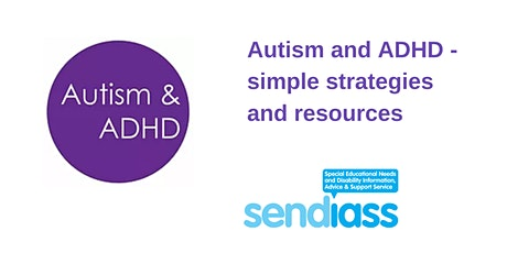 Autism and ADHD - simple strategies and resources tickets