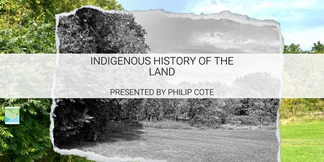 Indigenous History of the Land tickets