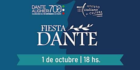 #FiestaDante entradas