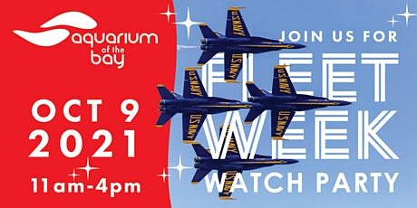 Fleet Week Watch Party @ Aquarium of the Bay tickets
