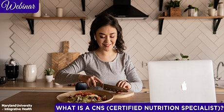 Webinar | What is a CNS (Certified Nutrition Specialist)? tickets
