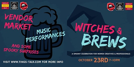 Witches and Brews tickets