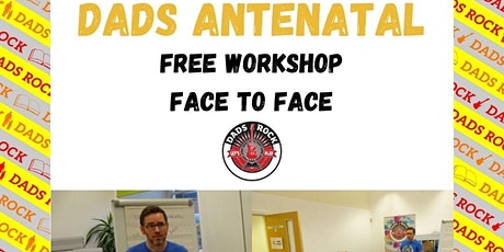 Dads Antenatal - Face to face tickets