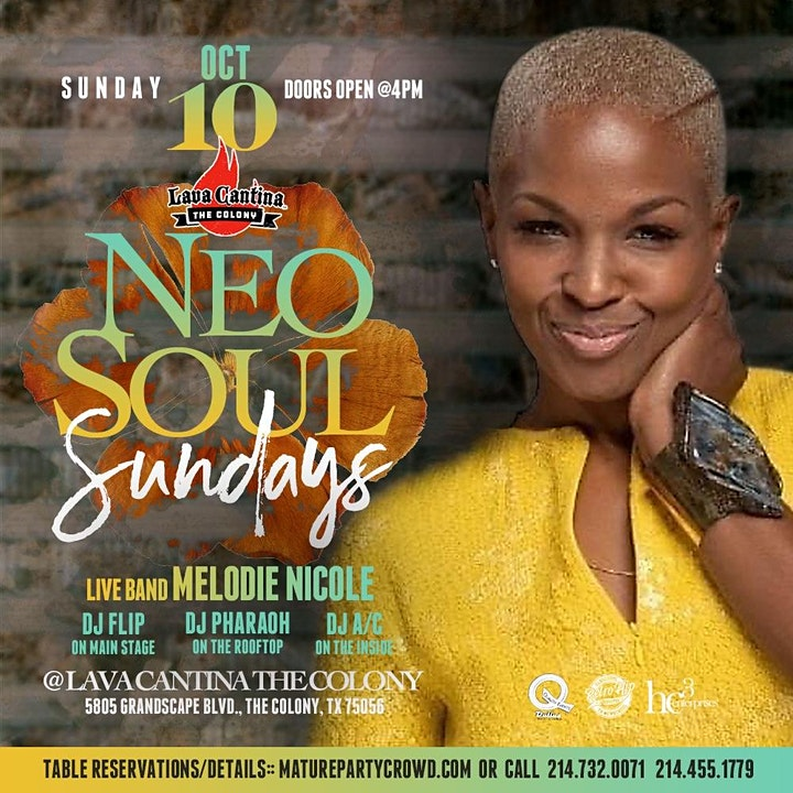 NEO SOUL SUNDAYS feat MELODIE NICOLE image