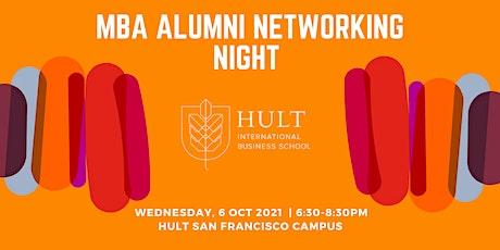 MBA ALUMNI NETWORKING NIGHT - SAN FRANCISCO tickets