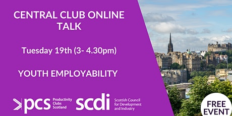 Central Productivity Club presents: Youth Employability tickets