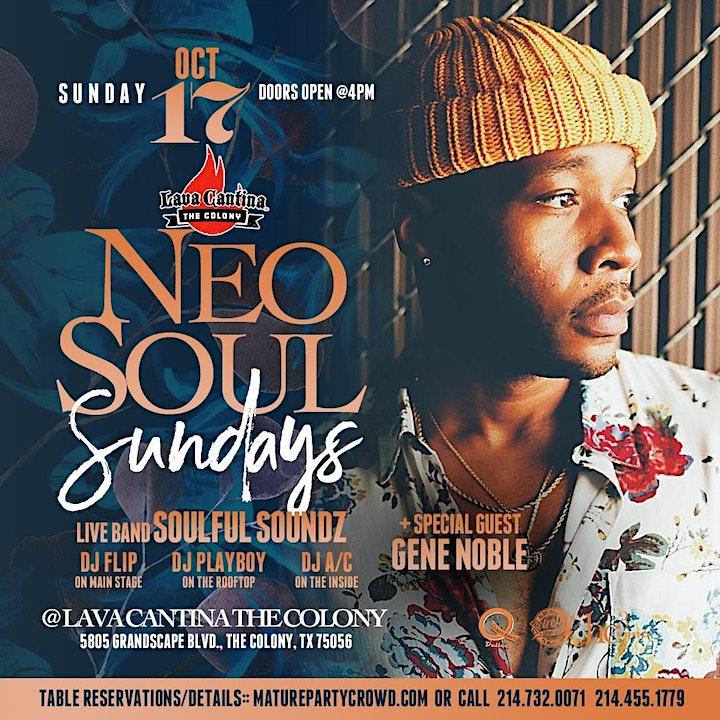 NEO SOUL SUNDAYS feat GENE NOBLE + SOULFULSOUNDZ image