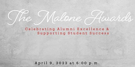 The Malone Awards tickets