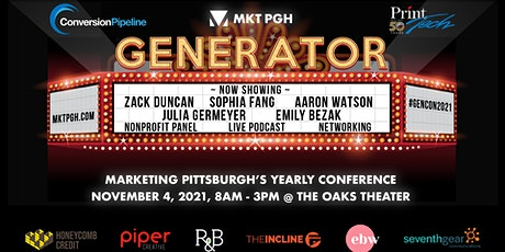GENERATOR MARKETING CONFERENCE tickets