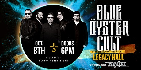 Blue Öyster Cult at Legacy Hall tickets