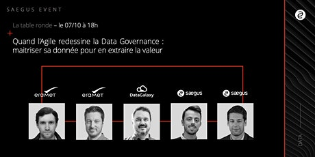 Quand l'Agile redessine la Data Governance biglietti