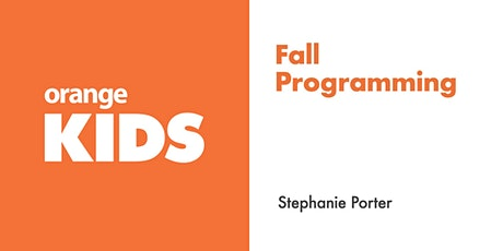 Let's talk about Fall Programming tickets