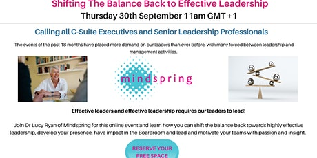 Shifting the balance back to more effective leadership tickets