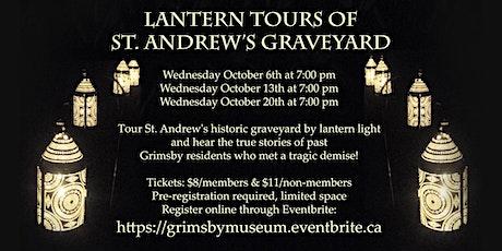 St. Andrew's Graveyard Lantern Tour tickets
